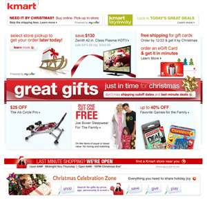 Kmart Christmas Sale