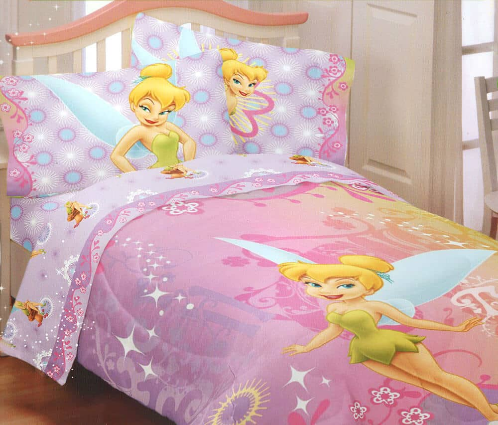 tinkerbell sheet set