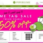 Piperlime Twice Yearly Lime Tag Sale