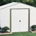 Arrow Shed Steel Storage Shed with Skylight and Floor Kit 33% Off Today Only!