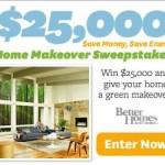 Better Homes and Garden Home Makeover Sweepstakes