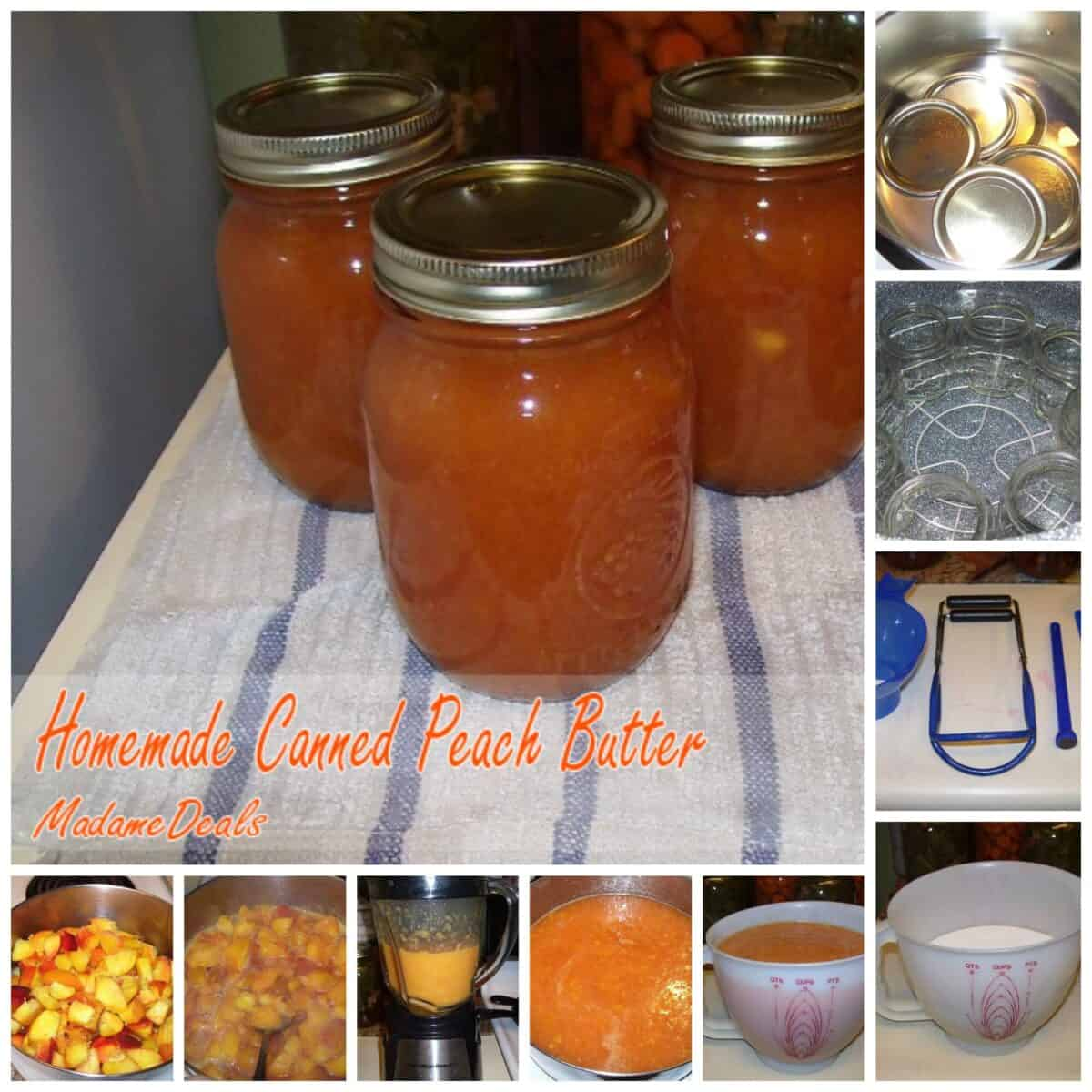 Homemade Canned Peach Butter - Real Advice Gal