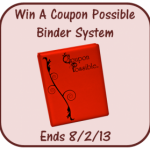 Win a Coupon Possible Binder System