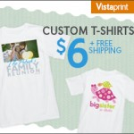 Personalized T-shirts Only $6 Shipped!