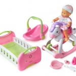 Fisher-Price Little Mommy Baby So New Home and Away Doll Set Only $29.99!