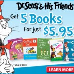 5 Dr Seuss Books for only $5.95