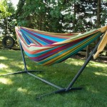 Vivere Double Tropical Hammock with Stand 37% Off