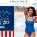 Lands End 4th of July Sale