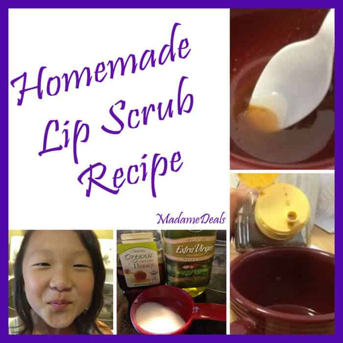 Lip Scrub Recipe