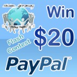 $20 Paypal Flash Contest #MissionGiveaway