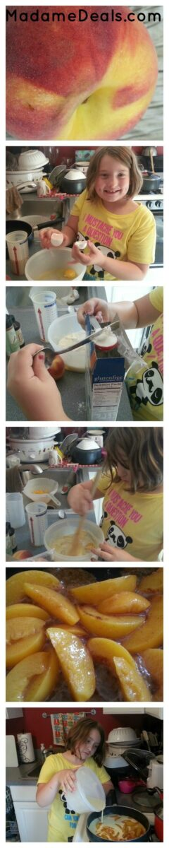 Kids Low Fat Recipes : Peachy Pancake
