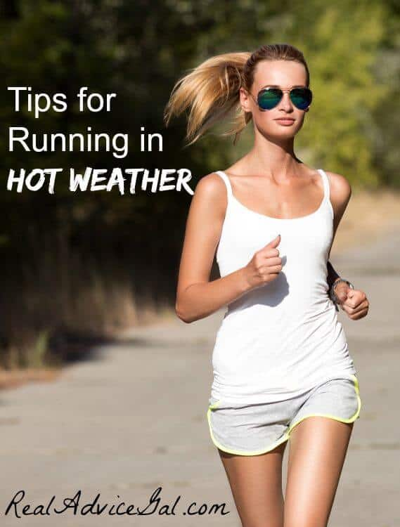 running in hot weather