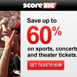 Save $10 off your first purchase with ScoreBig