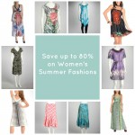 Save on Women's Summer Fashions