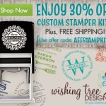 Save 30% on Stamper Kits at Wishing Tree Designs Labor Day Sale
