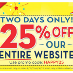 Huge Site Wide Melissa and Doug Anniversary Sale
