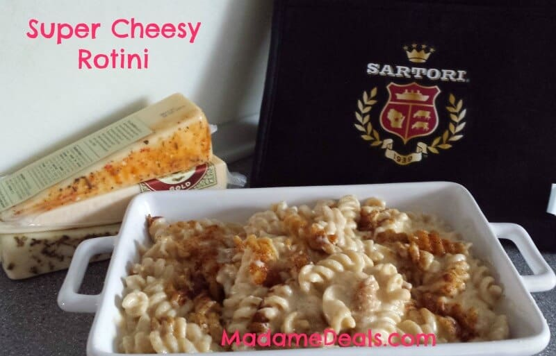 Super cheesy rotini