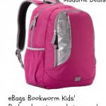 eBags Bookworm Kids' Backpack Review and Giveaway!