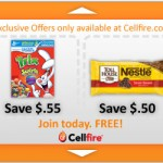Cellfire Coupons 10/1/13