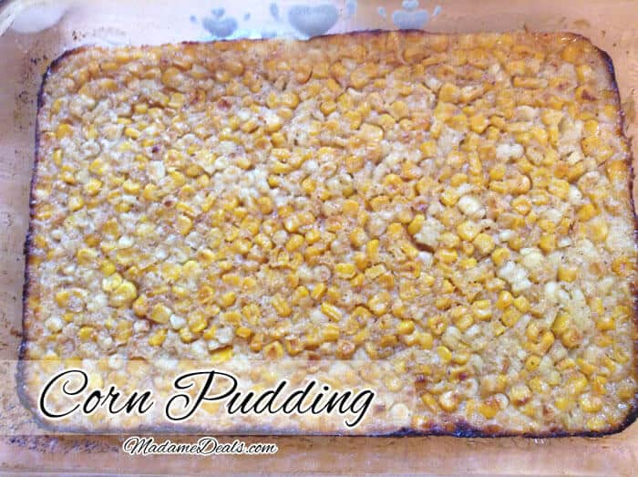 Dessert Recipes for Kids: Corn Pudding