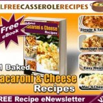 Free eCookbook – 11 Baked Macaroni and Cheese Recipes