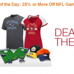 Save 25% or More on NFL Gameday Essentials