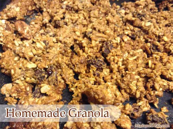 Kid Cereal and Oatmeal Recipes: Homemade Granola