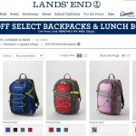 Lands' End Back to School Deal: 40% Off Backpacks & Lunch Boxes