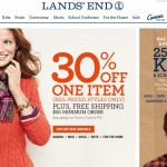 Lands End Coupon 30% Off One Item