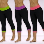 Bally Fitness Color-Blocked Leggings Only $17.99 Shipped!