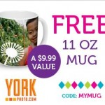 FREE personalized Mug from York Photo