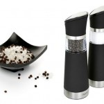 ModernHome Electric Salt and Pepper Mill Set 56% Off