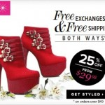 25% off at ShoeDazzle