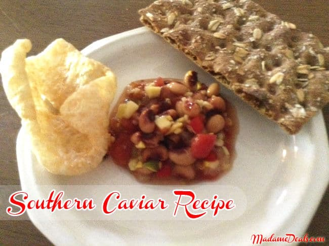 Cooking Healthy Recipes for Kids: Southern Caviar