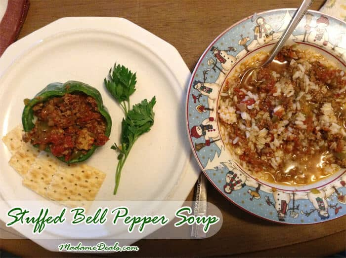 Kids Meal Recipes: Stuffed Bell Pepper Soup