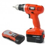 Refurbished Black & Decker Cordless Drill and Stud Finder Set Only $24.99!