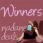 We have 2 winners from the Hips and Curves Giveaway!!