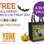 FREE Custom Halloween Trick or Treat Bag