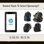 Belated Back to School Tablet & Backpack Giveaway