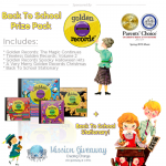 Mission Giveaway Golden Records Win Back to School Prize Pack