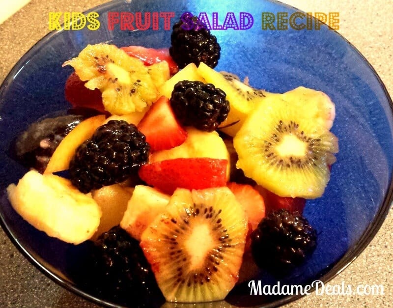 Kids fruit salad recipes