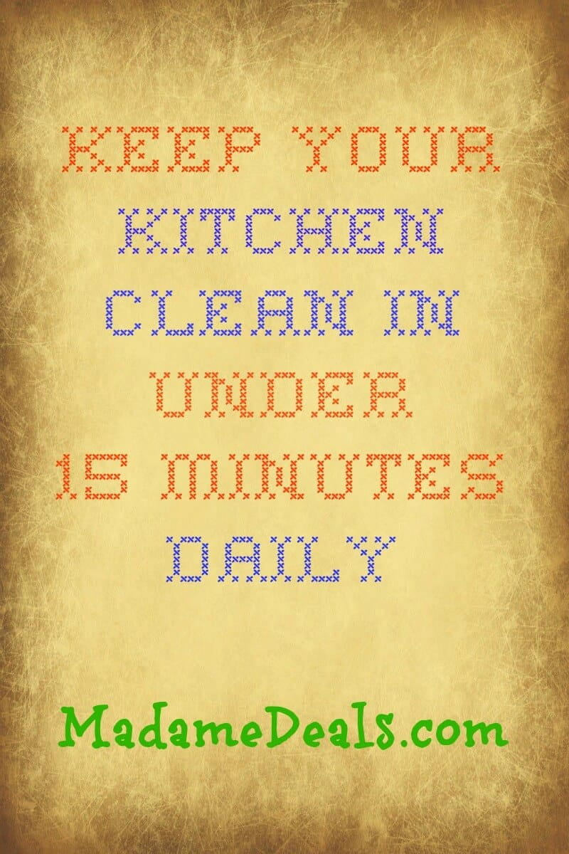 Kitchen Clean 1