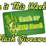 Win Cash: Win It This Weekend Flash Giveaway