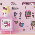 Monster High Wall Stickers Only $9.99!