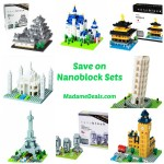 Save up to 57% on Nanoblock Building Sets