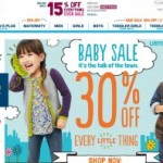 Old Navy Maternity and Baby Sale