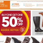 Payless Sale Buy One Get One 50% Off