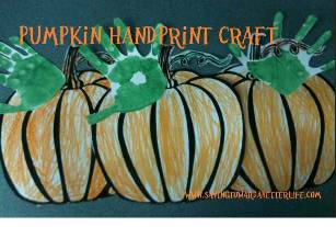 pumpkinhandprintcraft