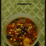 Slow Cooker Spicy Mexican Minestrone Soup