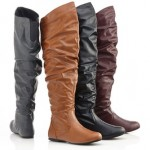 Carrini Over the Knee Slouchy Boots Only $29.99 Shipped